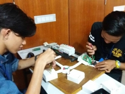 In Class/ Lab / Exam @ NSDC