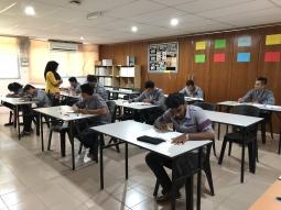 Examination Day at NSDC