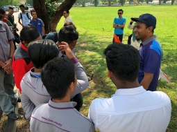 Science and Arts Fest at MGTF USM (Plane)